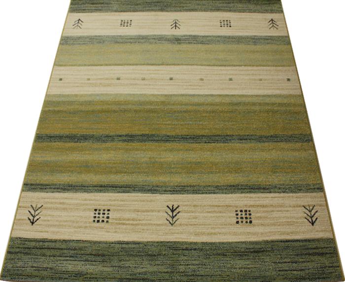 ベルギー製 輸入カーペット ウィルトン織り グリーン 輸入ラグマット インフィニティ32434(K)