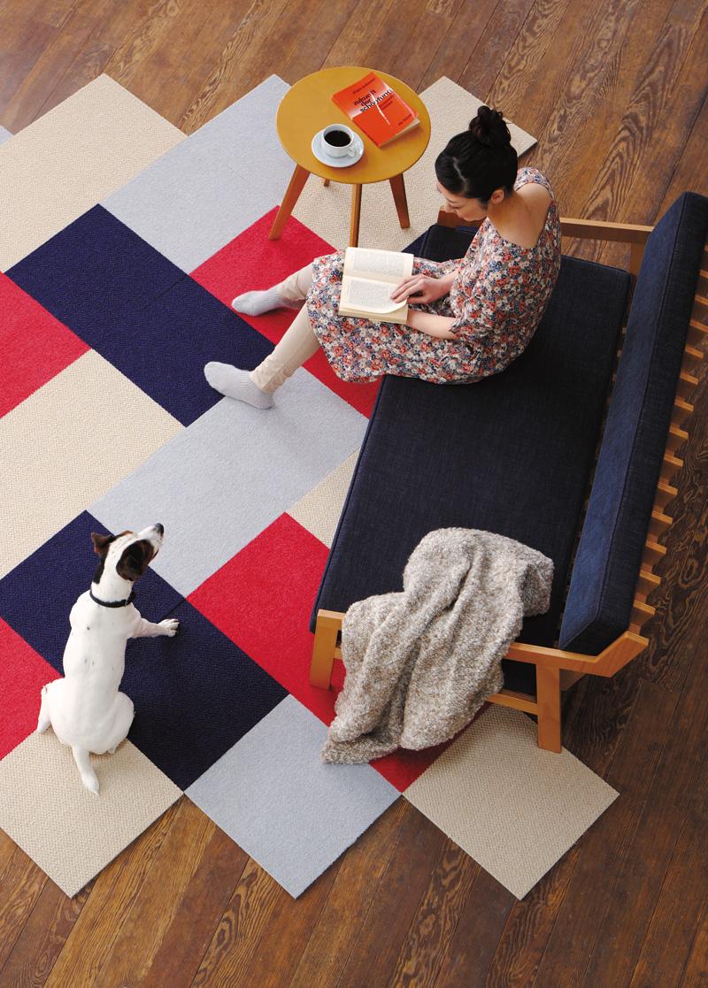 ペット対策タイルカーペットのイメージ1