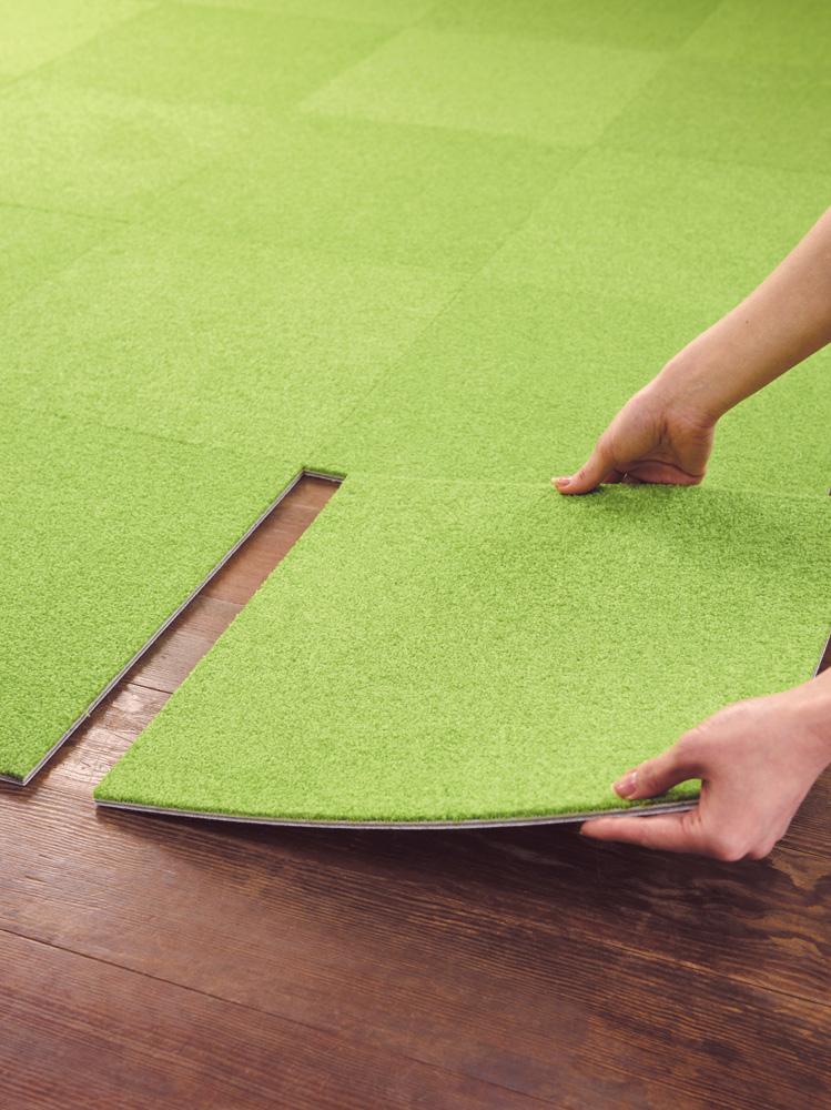 タイルカーペットとはのイメージ