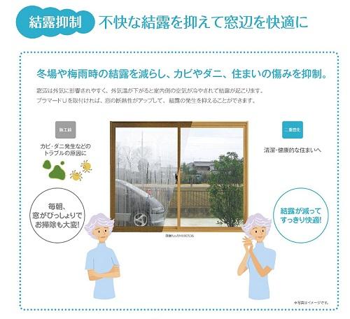 窓断熱!!内窓 プラマードUのイメージ3
